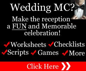To Be A FUN Wedding MC